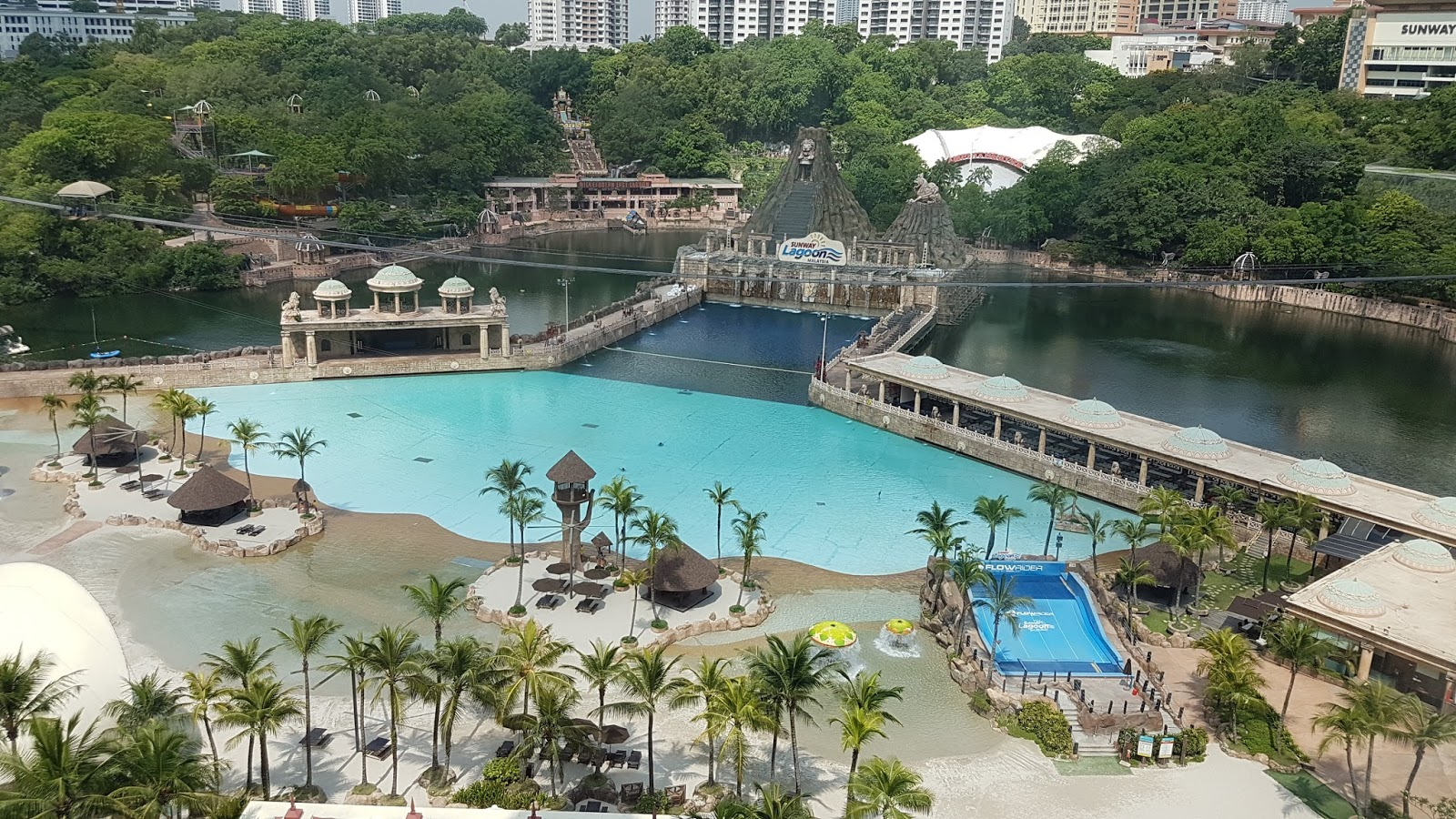 Staycation at sunway resort hotel for Sunway pyramid hotel swimming pool