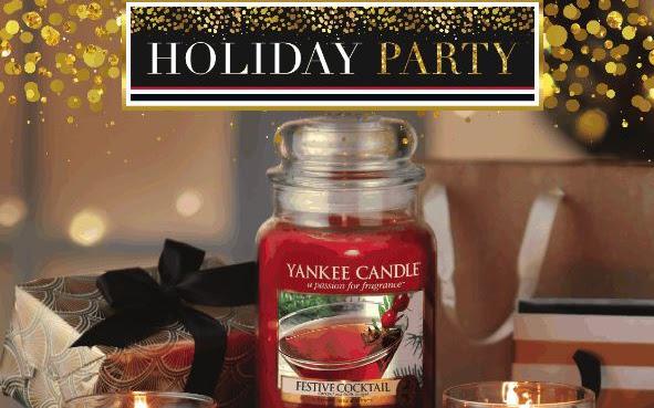 Zapowiedź Q4 Yankee Candle Holiday Party 2016  - Czytaj więcej »