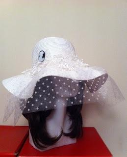 beyaz nikah şapkası satın al cameo aksesuar