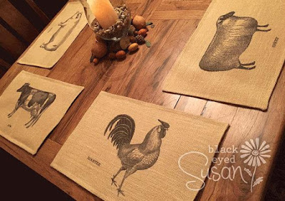 Farm Animal Placemats