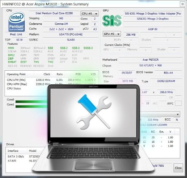 HWiNFO32-64 6.24 Portable | Conocer al detalle el hardware de tu equipo