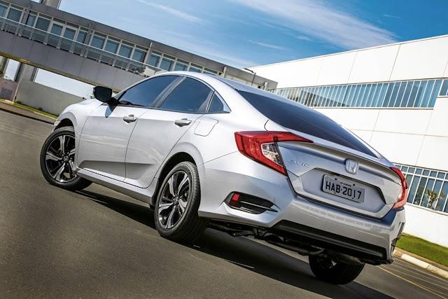 Novo Honda Civic 2017 2.0 Automático Flex - consumo