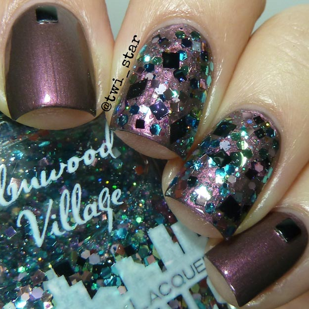 Nail Art Blog: Gridlock Lacquer Electric Tower