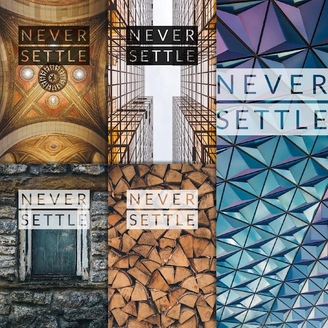 Never Settle Wallpaper Pack 16