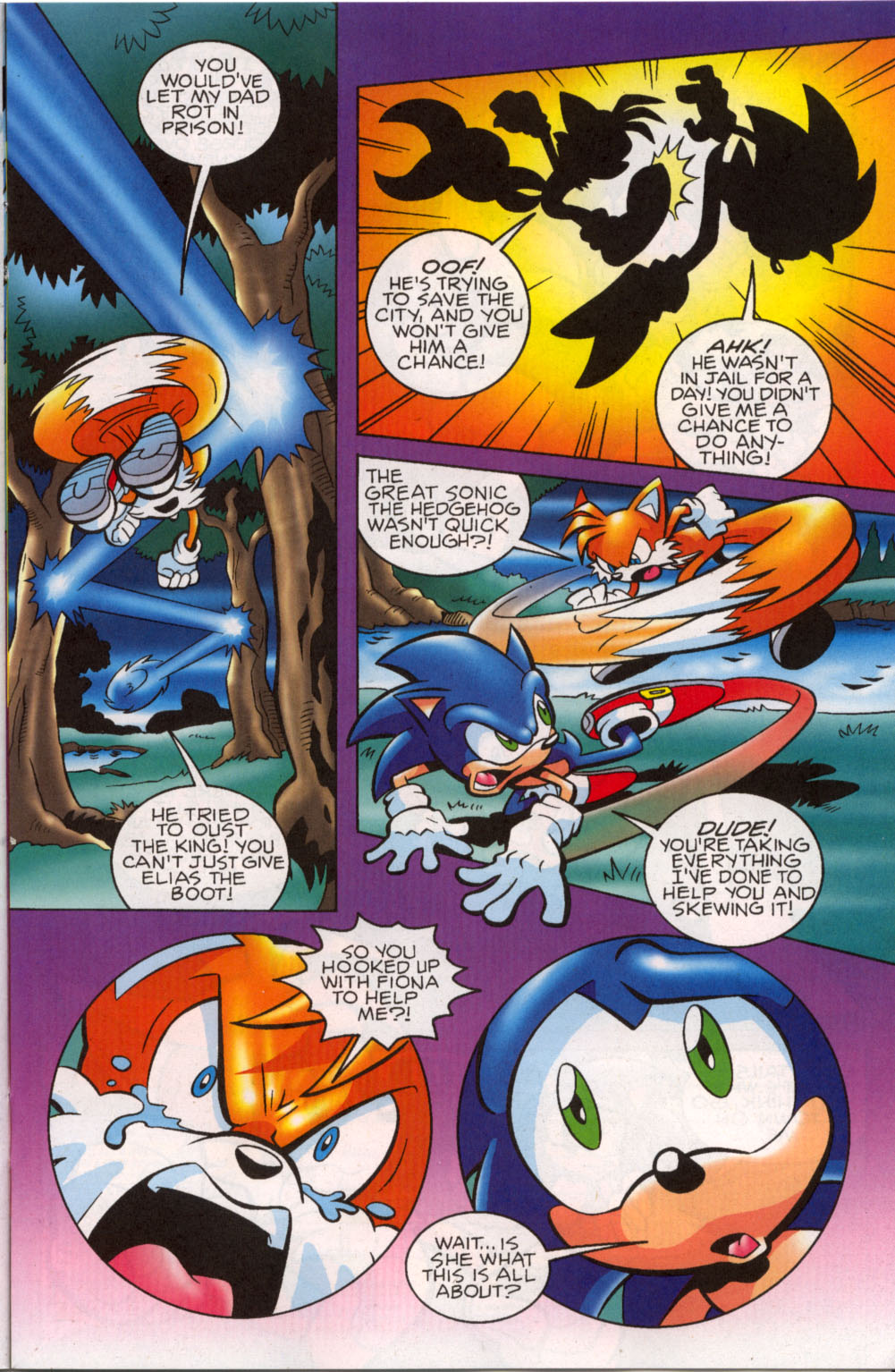 Read online Sonic The Hedgehog comic -  Issue #179 - 10