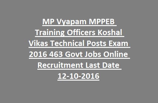 MPPEB ITI Training Officers Koshal Vikas Technical Posts Exam ... on physics jobs, railway jobs, law jobs, hr jobs, industry jobs, english jobs, church jobs, private sector jobs,