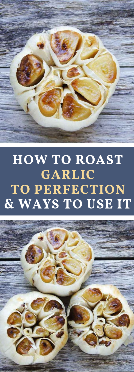HOW TO ROAST GARLIC AND STAY HEALTHY ALL YEAR #Vegan #glutenfree