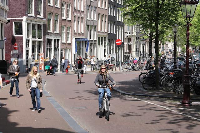 pyörällä amsterdam raskaana matkustaminen / kokemuksia ja vinkkejä