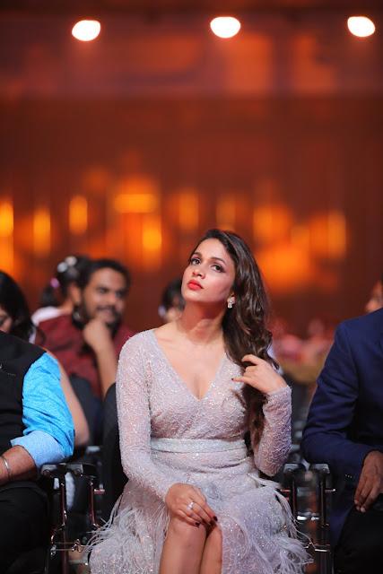 Actress Lavanya Tripathi at SIIMA Awards 2017 Day 1
