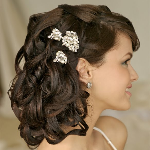 Medium Wedding Hairstyles: Summer Wedding Idea: Wedding Hairstyles For Medium Length Hair