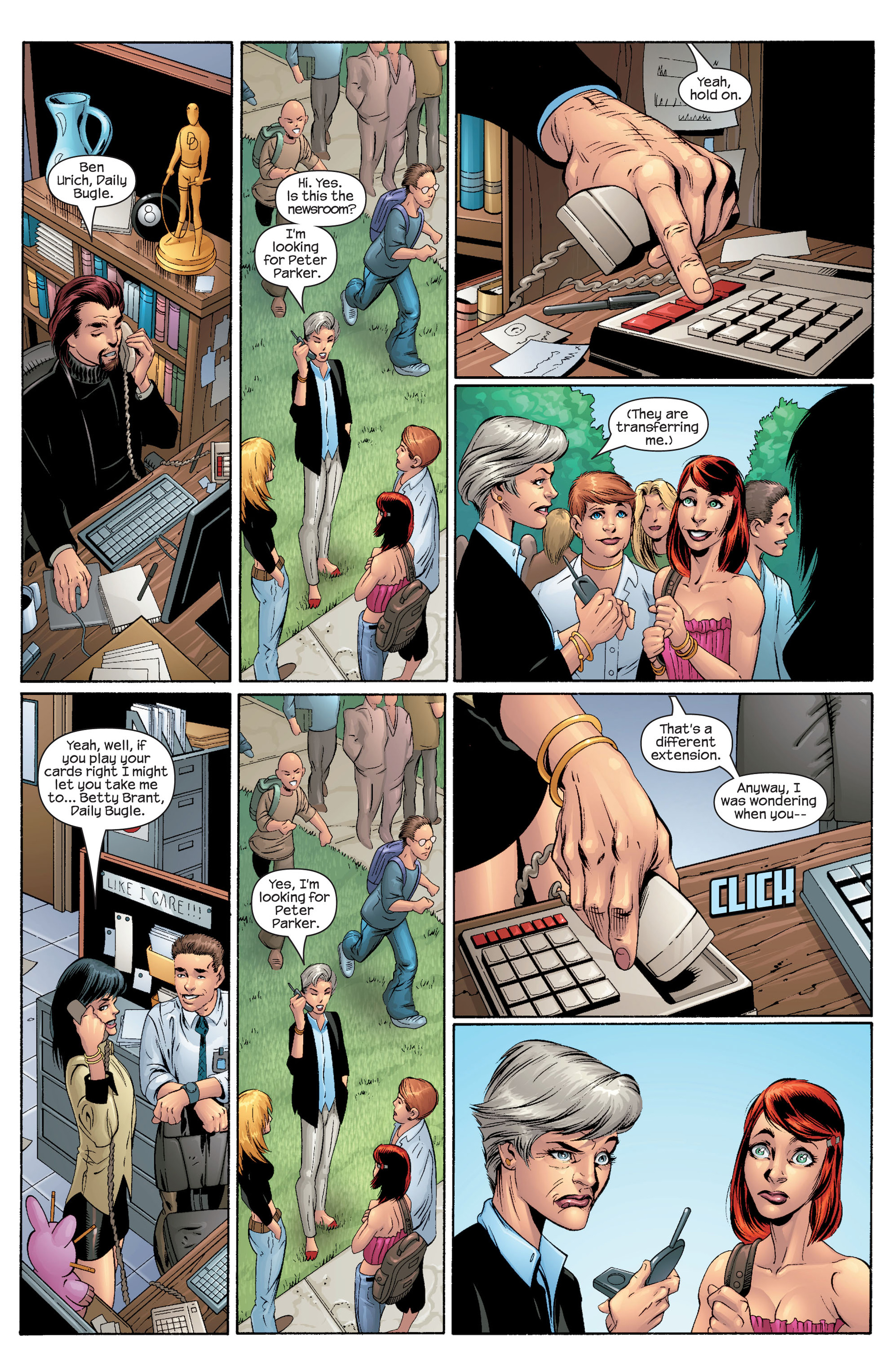 Read online Ultimate Spider-Man (2000) comic -  Issue #43 - 18