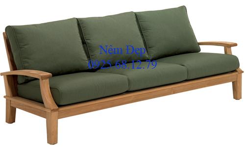 bọc nệm ghế sofa gỗ 028