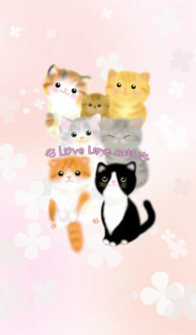 love love cute cats