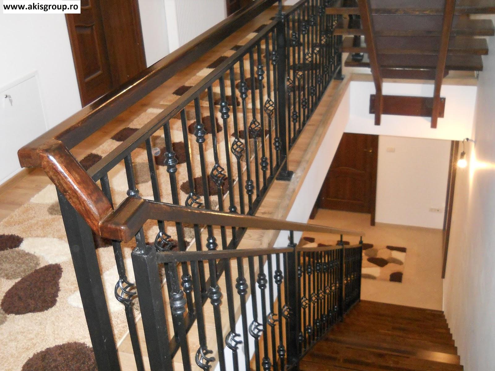 Balustrade fier forjat balustrade fier forjat modele for Modele de balcon din lemn