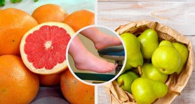 fruits pour lutter contre contre la rétention d'eau