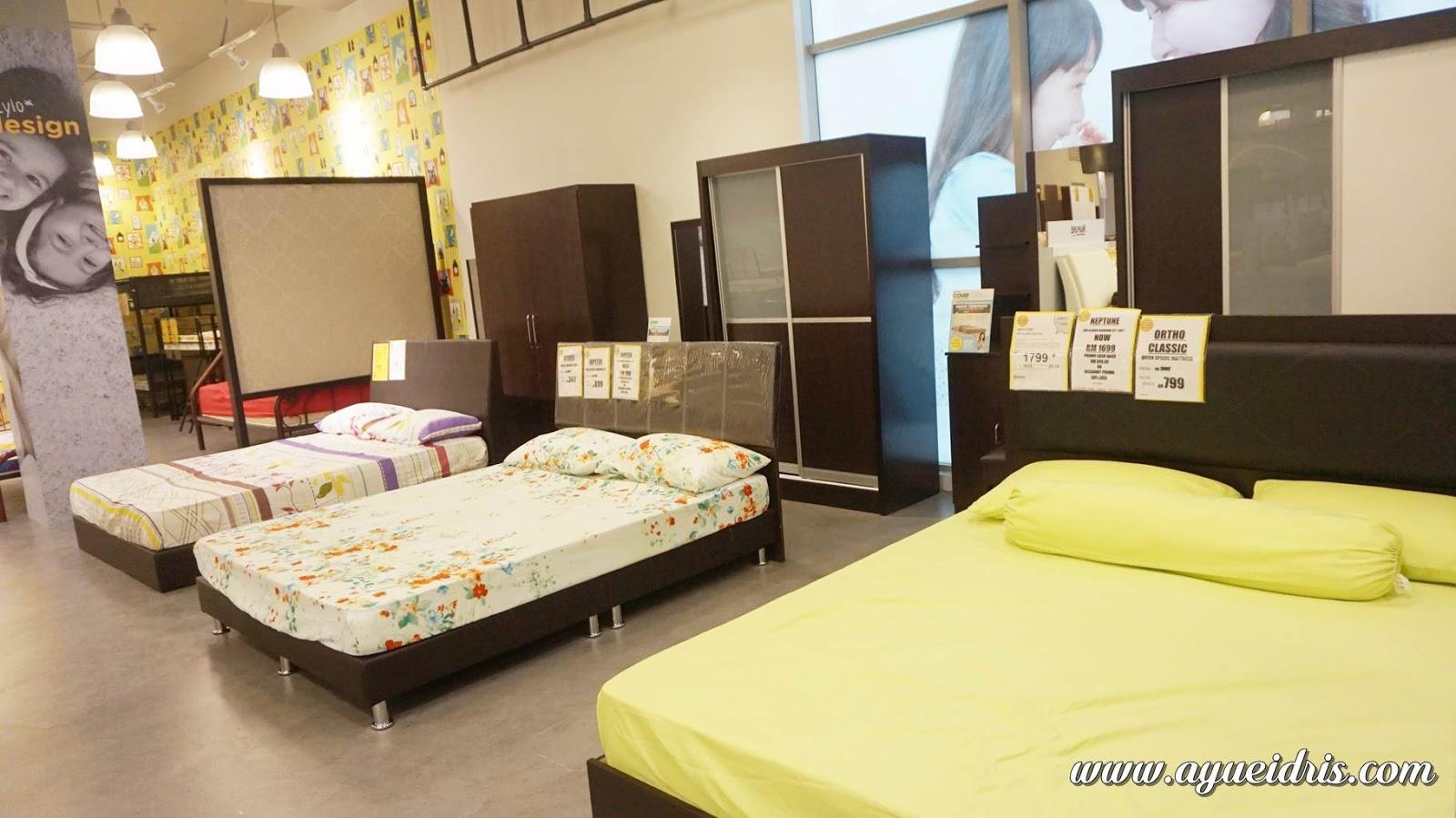 4pcs Set Bilik Tidur Berharga Dari Rm799