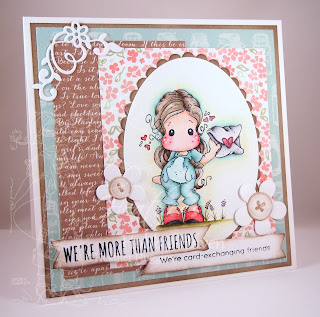 Heather's Hobbie Haven - Mail Tilda Card Kit