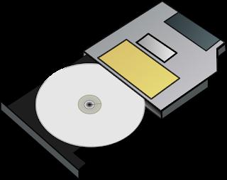 Keluarkan Cakram (disk) dengan Hati-hati.