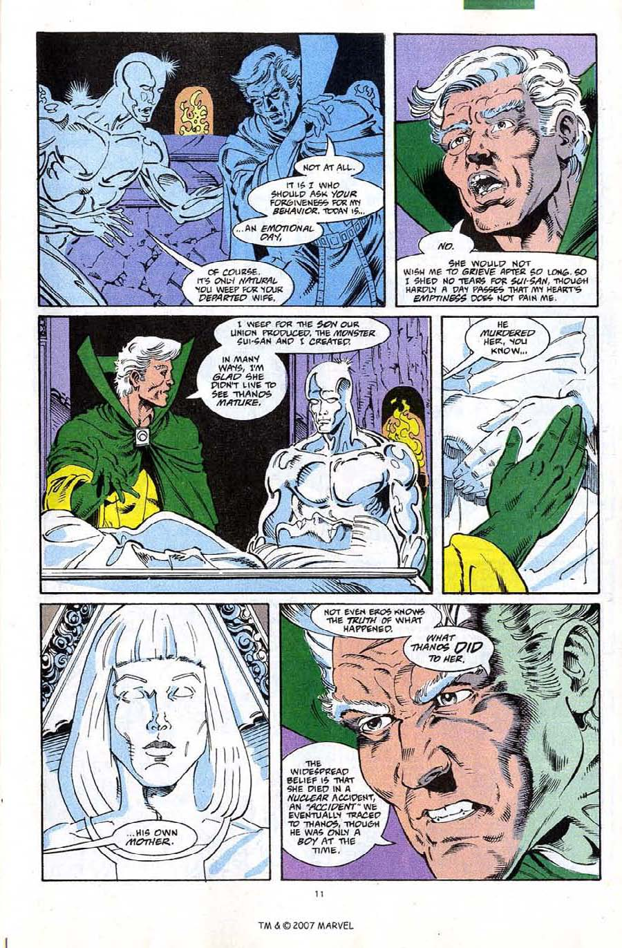 Read online Silver Surfer (1987) comic -  Issue #67 - 13