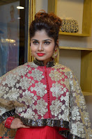 Anya South Actress model in Red Anarkali Dress at Splurge   Divalicious curtain raiser ~ Exclusive Celebrities Galleries 006.JPG