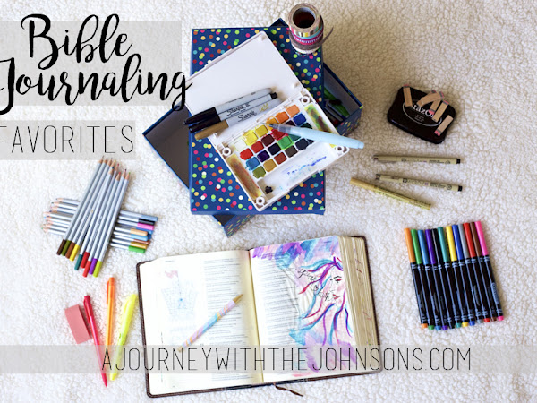 Bible Journaling Favorites