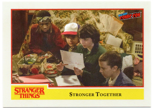 Topps Stranger Things is stuck in the Upside Down!