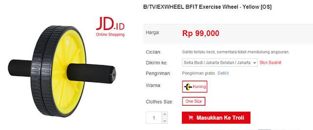 Alat Latihan Otot Dijual di JD.ID