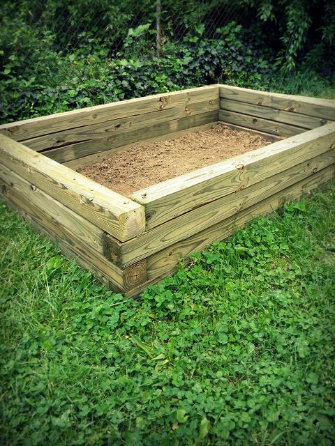 Alternative Gardning Raised Garden Bed Design
