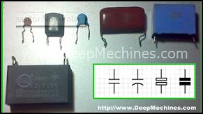 Beberapa Model / Tipe Capasitor Non-Polar
