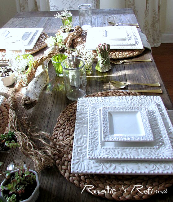 Farmhouse centerpiece ideas for summer