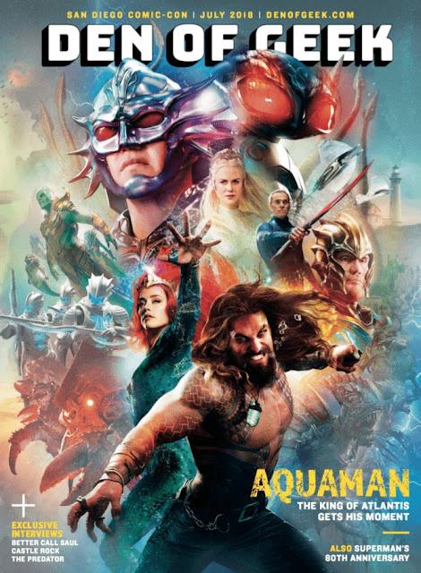 """Nueva imagen de """"Aquaman"""" en la cual podemos ver a a Dolph Lundgren como el Rey Nereus y Willem Dafoe como Vulko - DC Comics"""