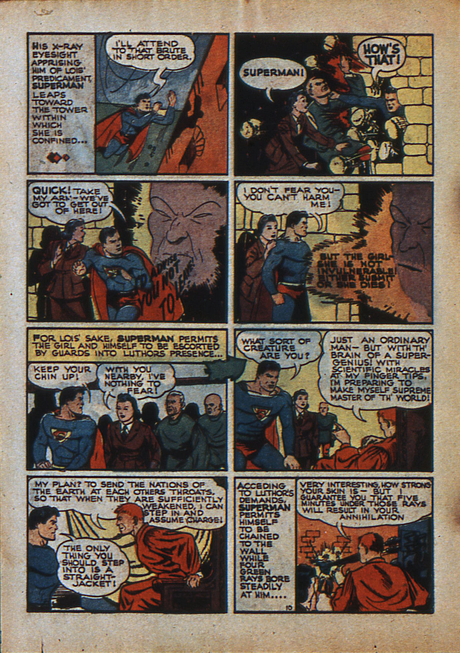 Read online Action Comics (1938) comic -  Issue #23 - 13