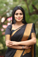 Poorna in Cute Backless Choli Saree Stunning Beauty at Avantika Movie platinum Disc Function ~  Exclusive 115.JPG