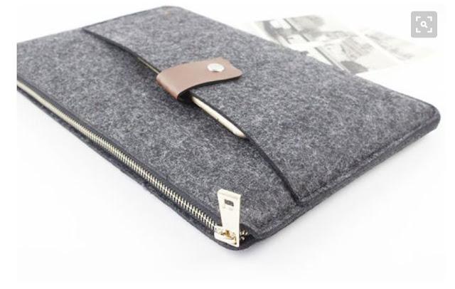 idea funda de tablet con bolsillo y cremallera