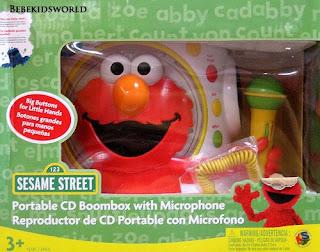 Www Bebekidsworld Com Sesame Street Elmo Boombox