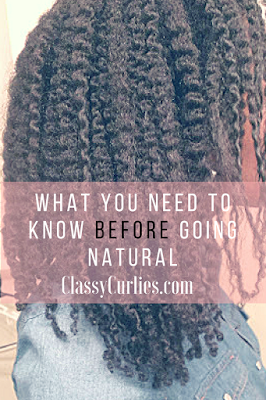 5 things to know before going to natural hair- ClassyCurlies