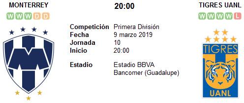 Monterrey vs Tigres UANL en VIVO