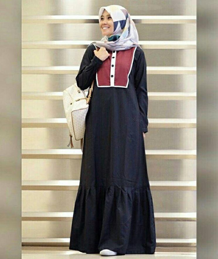 Nama Kode Barang Fatiyah Maxi Gamis Premium Quality
