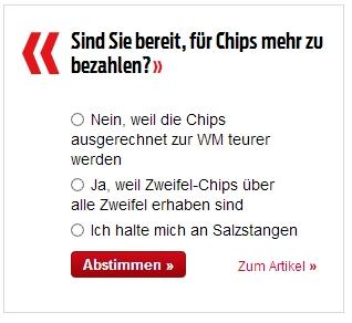 zweifel chips bestellen