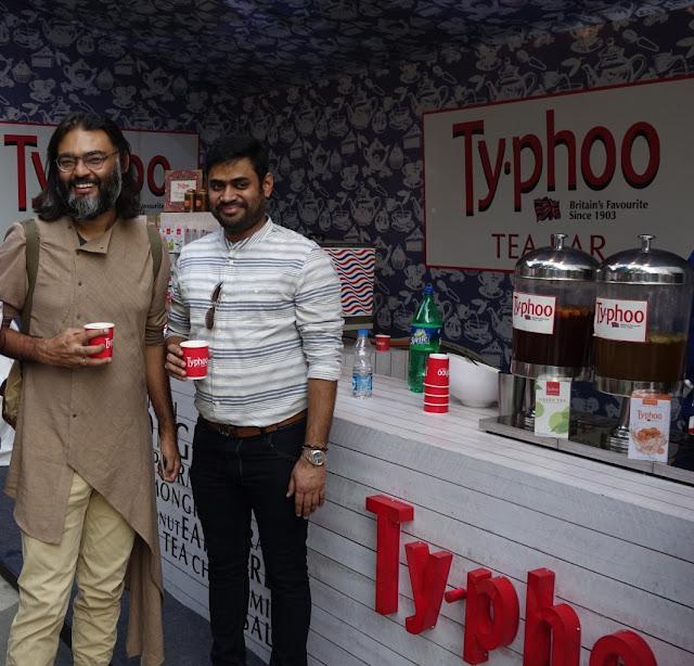 Designer Swarup Dutta at typhoo Tea Bar