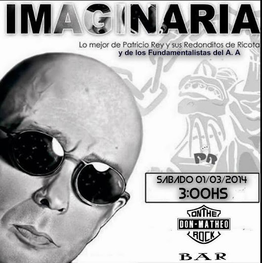 Imaginaria Rock en DonMatheo On The Rock Bar (Gualeguaychú)