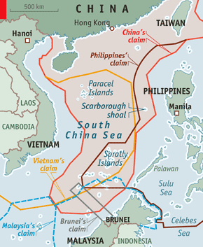 Pacific Sentinel News Story Nansha Islands Huangyan Island Have - Huangyan map