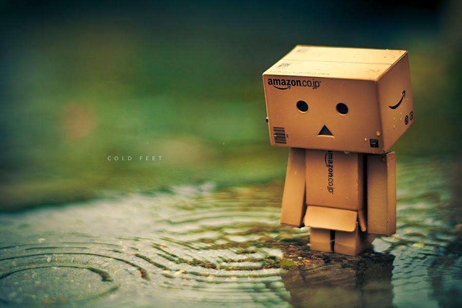 Wallpaper Danbo Galau