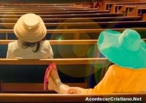 Vestimenta del cristiano en la iglesia