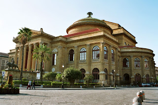 The magnificent Teatro Massimo in Palermo