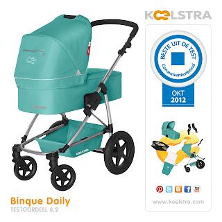Kinderwagen Binque Daily Jade