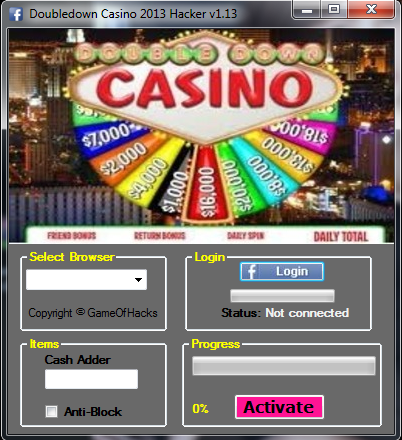 double u casino free chip generator