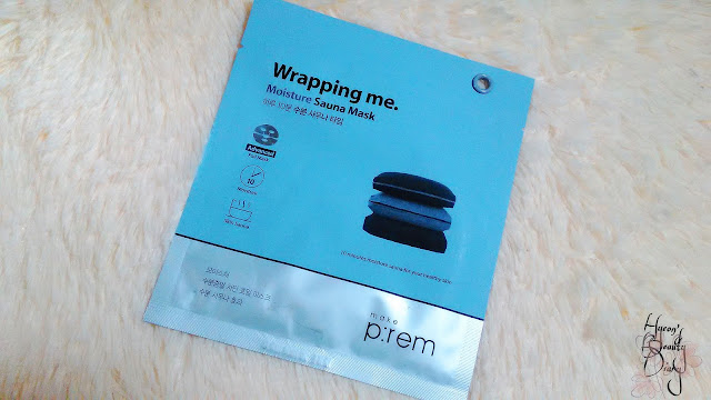 Review; make p:rem's wrapping me moisture sauna mask