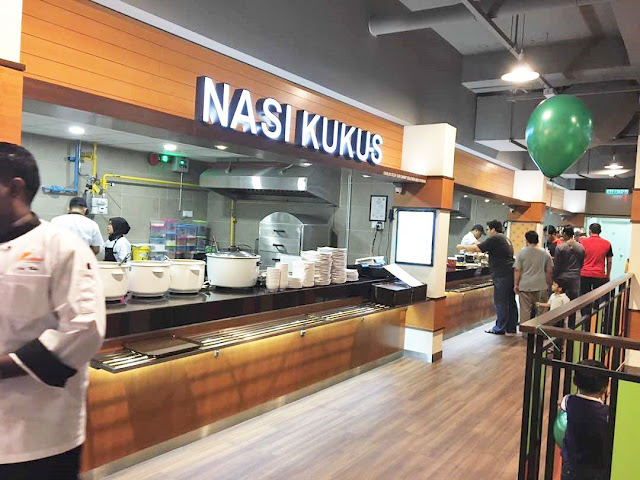 Muhibbah Makan Place│ New Food Court At Plaza Alam Sentral
