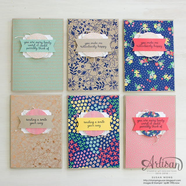 Love & Affection Cards ~ Susan Wong